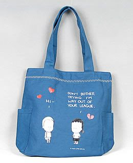 angry little girls bag