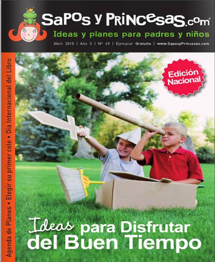 Ampa colegio zurbar n revista sapos y princesas abril 2010 - Sapos y princesas valencia ...