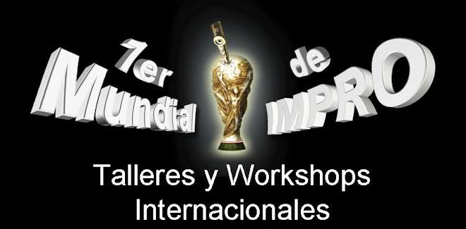 1e rmundial de impro peru 2009 - talleres y workshops internacionales