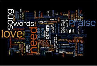 Wordle: Praise Song for the Day by Elizabeth Alexander
