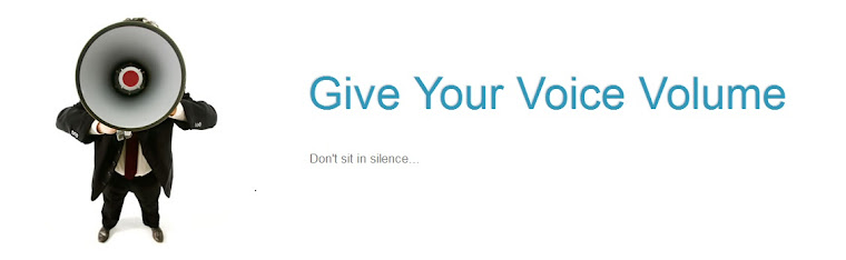 Give Your Voice Volume