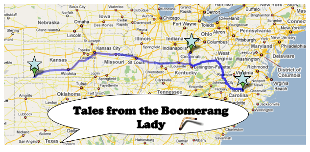 Tales from the Boomerang Lady