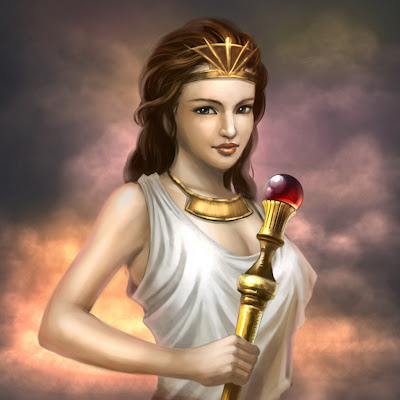 Hera, Reina de los Dioses - Dioses Griegos - Mitologia Griega - Seres Mitologicos -- Hera, Queen of the Gods - Greek Gods - Greek Mythology - Mythological Beings
