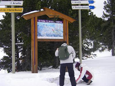 randonnée neige chamrousse