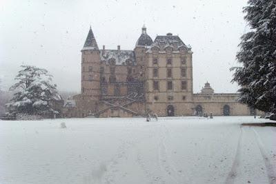 château de vizille neige