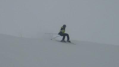 ski brouillard