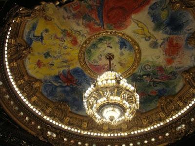 plafond opéra de paris