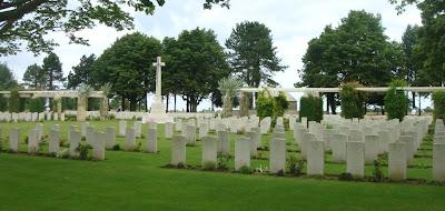 Normandie cimetière anglais