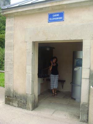 cabine téléphonique originale