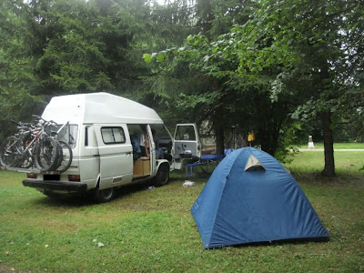 camping dans le jura
