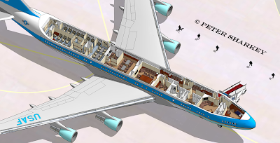 Airplane Floor Plan Air Force 1 Layout Falcon 2000gold
