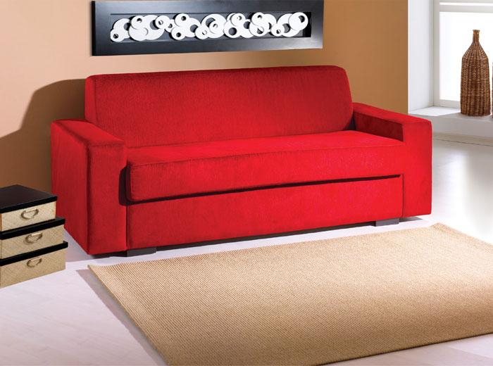 Bolshaia dica de decora o sof vermelho - Fotos de sofa camas ...