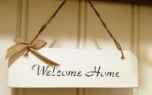 Welcome Home suuri kyltti