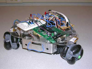 The Audio Homing Robot based on ATMega32 Microcontroller