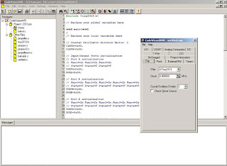 Code Vision AVR : C compiler and integrated IDE for AVR Microcontroller