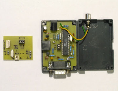 Small TV Terminal AVR Project