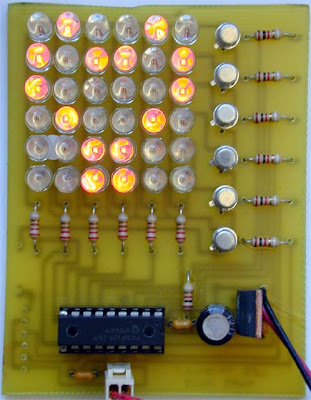 Dot Matrix Project : Fancy Leds