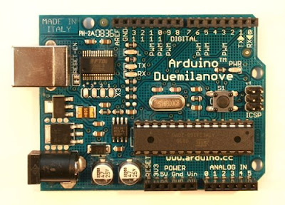 Arduino Duemilanove Project Board