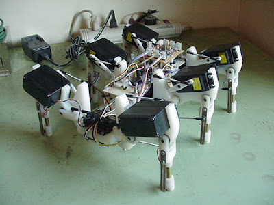 PIC16F84 based Hexapod Robot