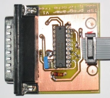 Parallel Interface AVR Programmer Project