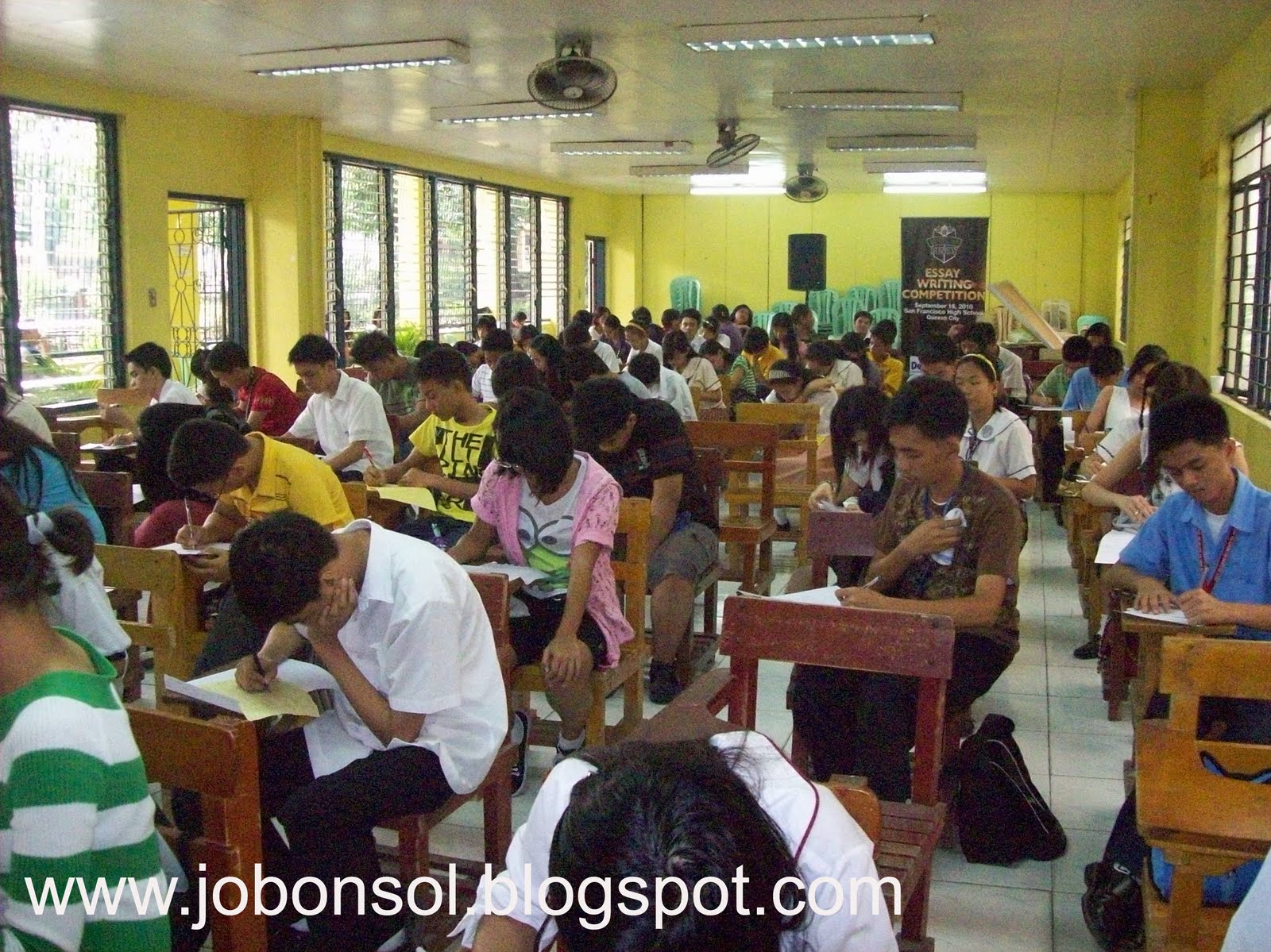 event greenwich holds essay writing competition in deped qc the said essay writing competition started assembly at 7am in the social hall of san francisco high school in coordination quezon city secondary school