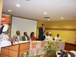 Mesa de Abertura do VII Seminario Nacional