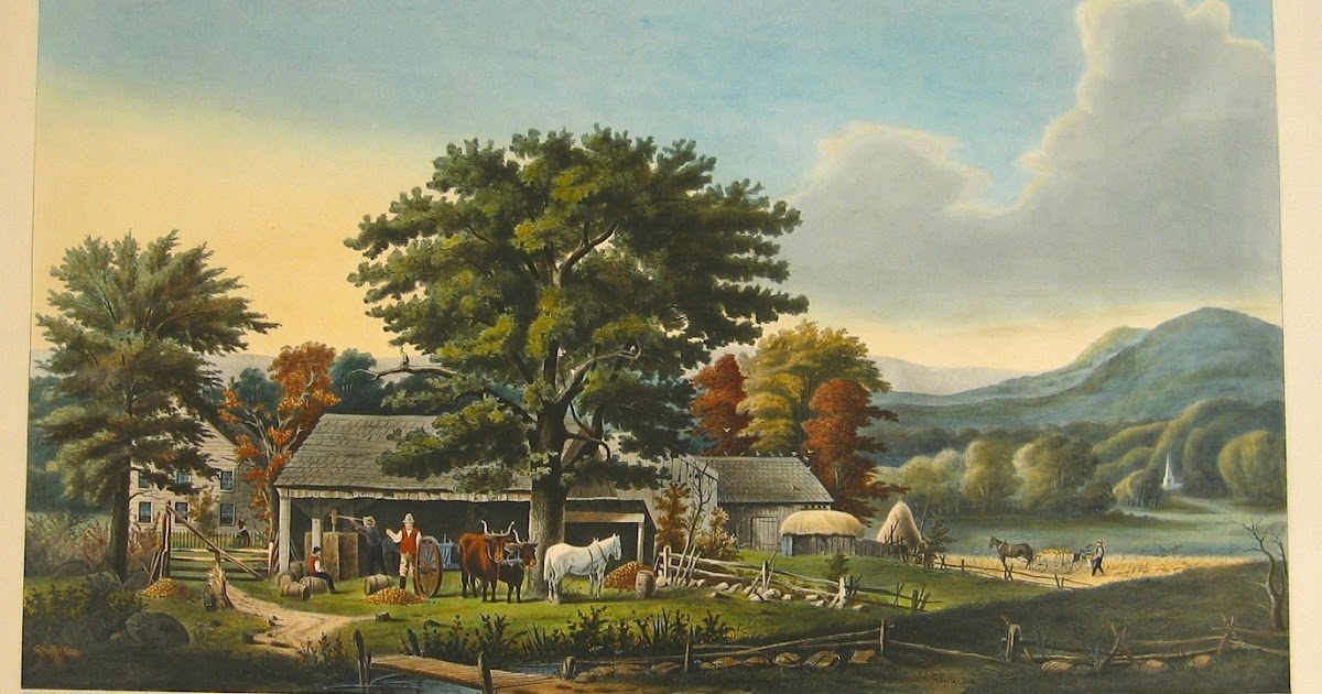 Antique prints blog currier ives prints collectors for The ives