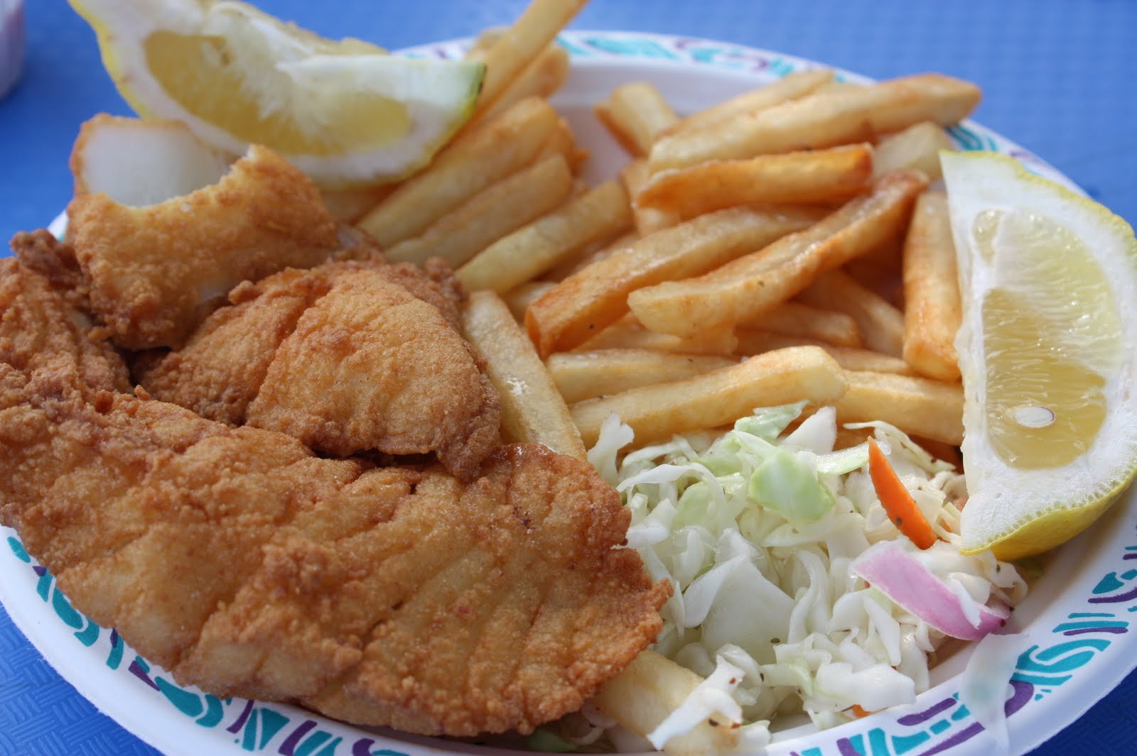 Umommy august 2010 for Mac s fish and chips