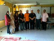 Bersama CSQ FC Team & Guru SK Sg Kertas
