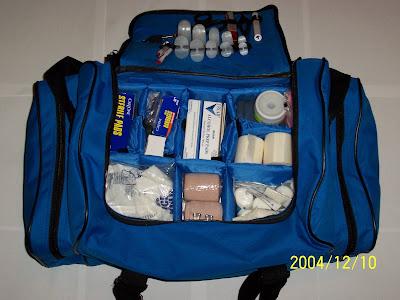 First Aid Jump Bag