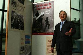 Embajador de Polonia Przemyslaw Marzec