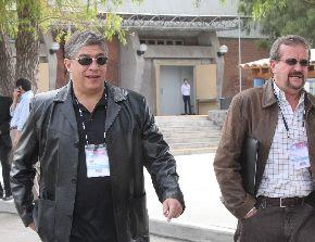 Manuel Masías, alcalde de Miraflores, a su llegada en la Conferencia Anual de Ejecutivos - CADE 2009, organizada por el IPAE en la ciudad de Arequipa. Foto: ANDINA/Carlos Lezama