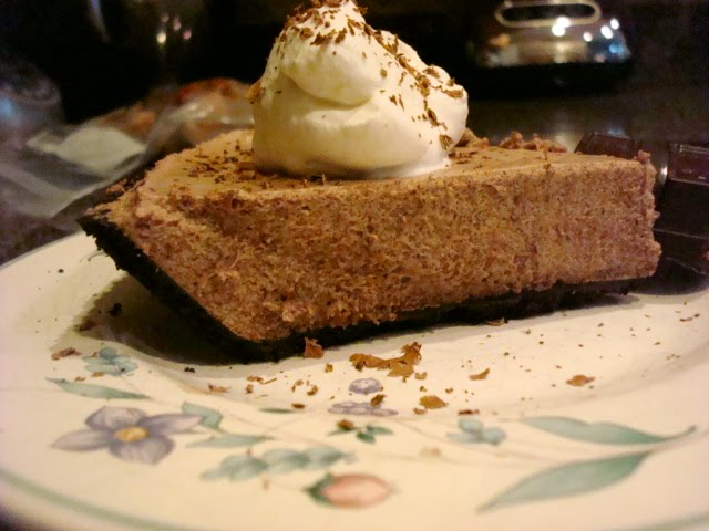 Smoky Mountain Café: Chocolate Chiffon Pie