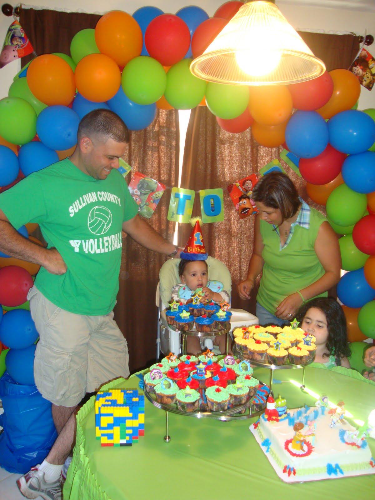 Decoración de cumpleaños de niños de Toy Story , Imagui