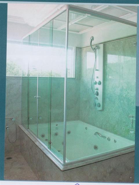 Aprenda a Construir e Reformar A Escolha do Box para Banheiro -> Dimensoes De Um Banheiro Com Banheira
