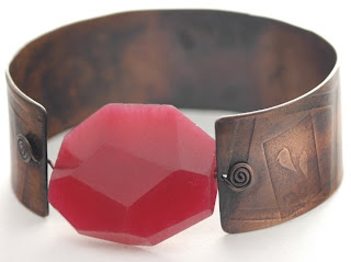 red chalcedony and copper