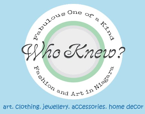 Who knew? Unique, handmade fashion and art in Niagara.