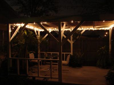 pergola solar lights