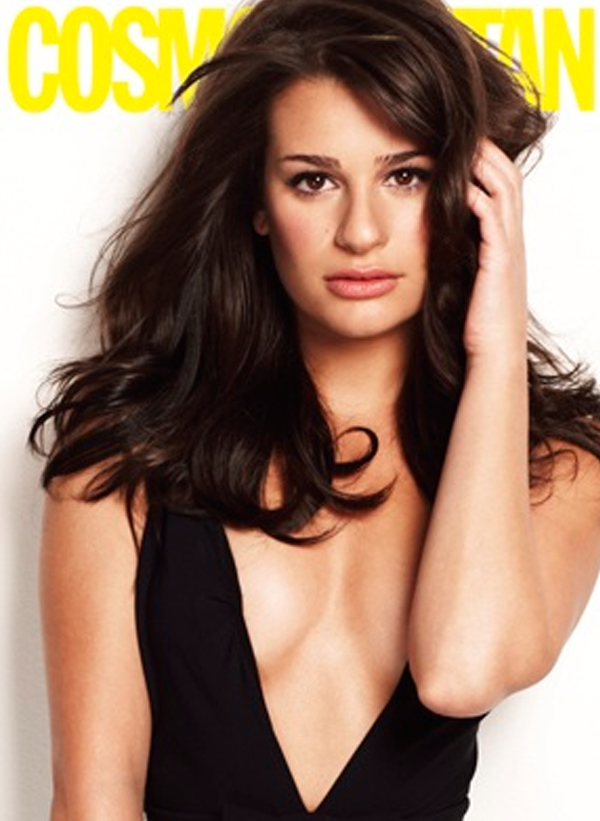 lea michele cosmopolitan article. Lea+michele+cosmo+cover+