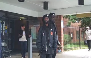 The New Black Panthers Prepare For War With The Tea Party  black+panther+voter+intimidation