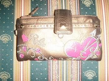 Pre-Loved Relic Love Bifold Wallet to let go!! - RM