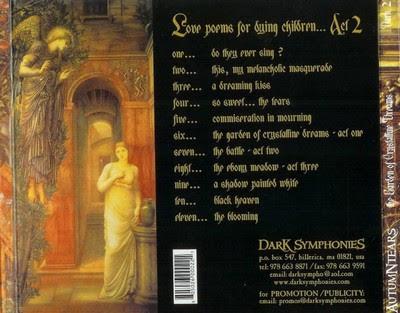 dark love poems. Rótulo / Label: Dark