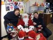 Santa came to Manchetts Budgens Burwell