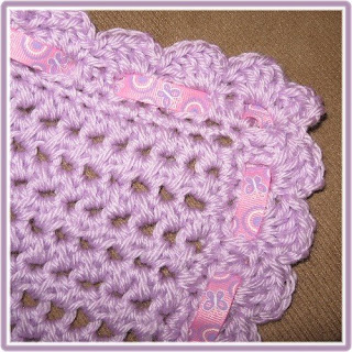 Doily Baby Blanket Crochet Pattern | Red Heart
