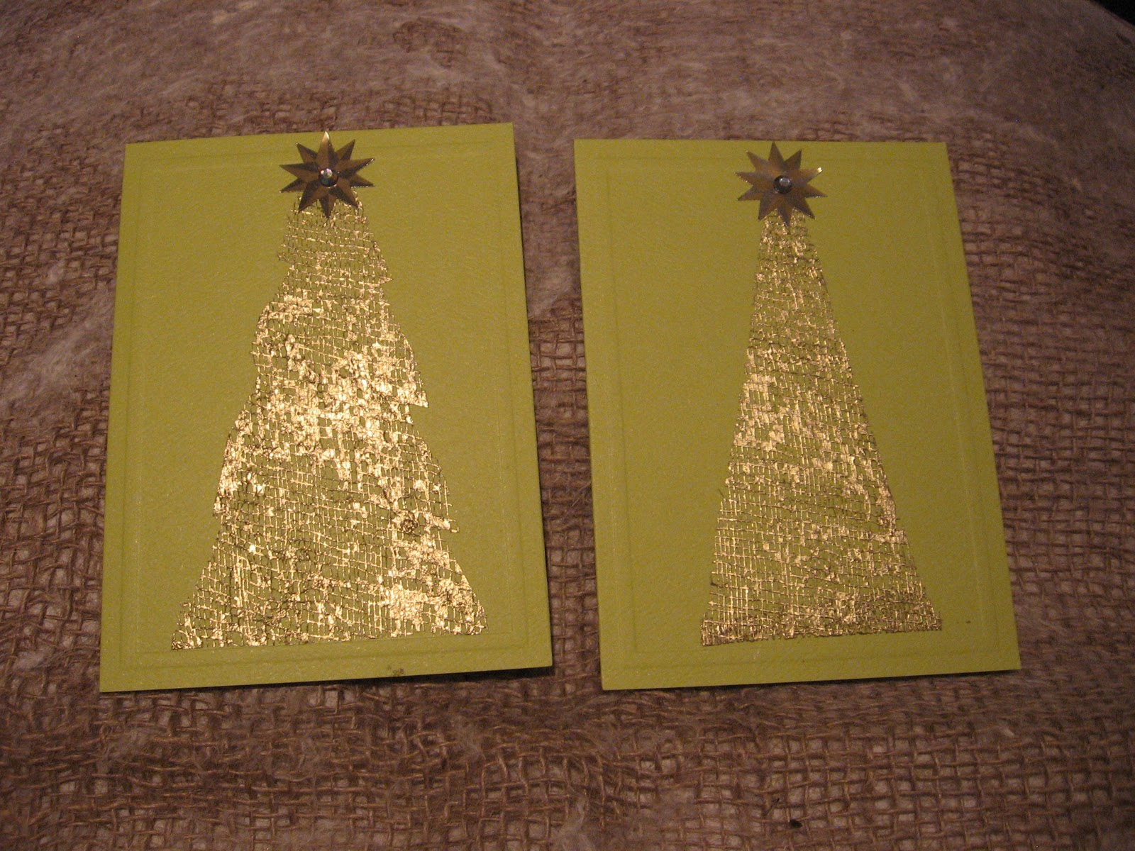 altered book studio christmas cards 2010