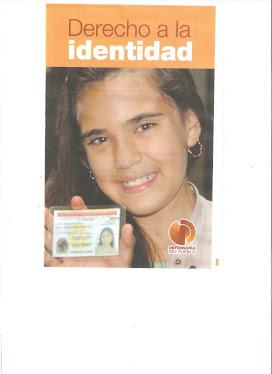 Derechos  a  Identidad