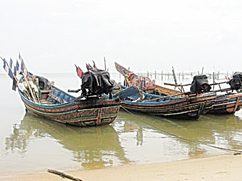 A village of fishermen