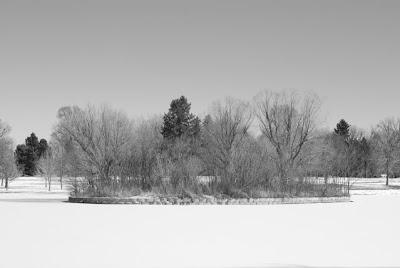 South Lake in the Snow, Washington Park, Denver