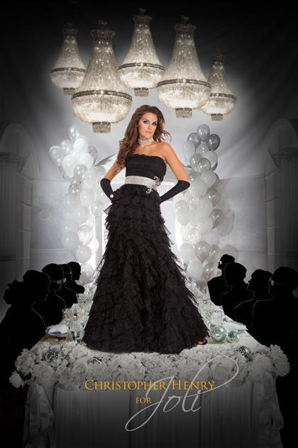 sites on elegant evening dress