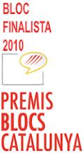 Per votació popular aquest blog és finalista a Premis Blocs Catalunya 2010!